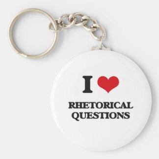 Llavero Amo preguntas retóricas