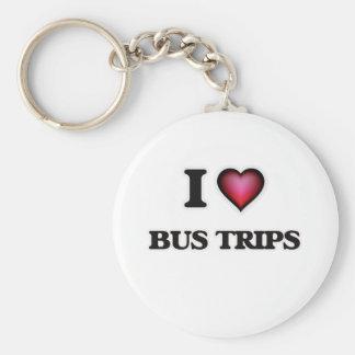 Llavero Amo viajes del autobús