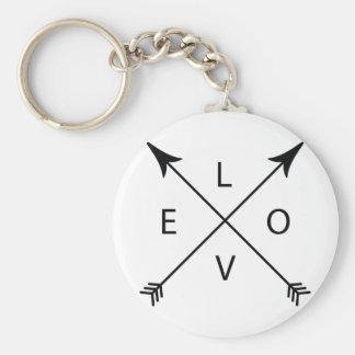 Llavero Amor con las flechas