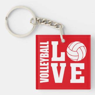 Llavero Amor del voleibol
