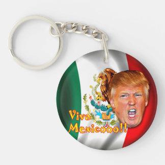 Llavero Anillo dominante de Viva México del triunfo de
