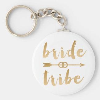 Llavero anillos de bodas elegantes de la flecha de la