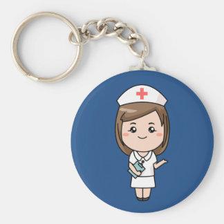 Llavero animado de la enfermera