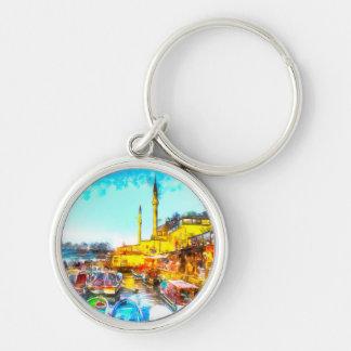 Llavero Arte de Estambul Turquía