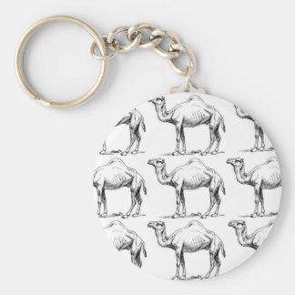 Llavero Arte de la manada del camello