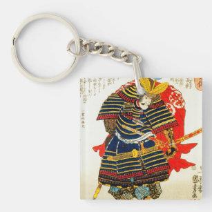 Llavero Arte japonés oriental clásico fresco Japón del