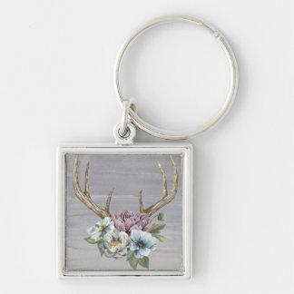 Llavero Astas florales de los ciervos
