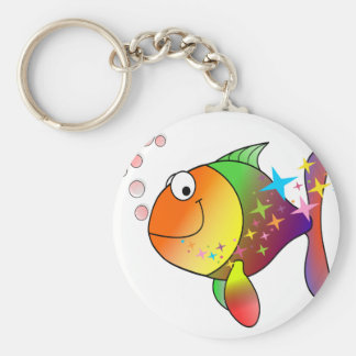 Llavero Atún del Océano Pacífico del multicolor del arco