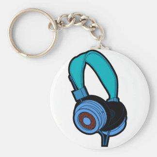 Llavero Auricular azul