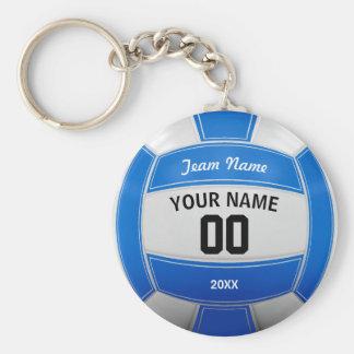 Llavero Azul conocido del equipo del año del jugador de
