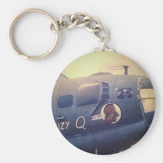 Llavero B17 bombardero Suzy Q