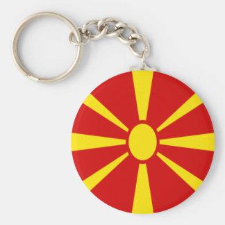 Llavero ¡Bajo costo! Bandera de Macedonia