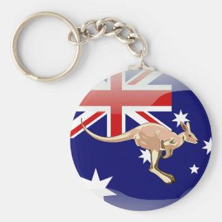 Llavero Bandera brillante australiana