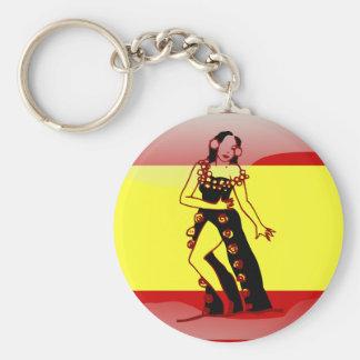 Llavero Bandera brillante de España
