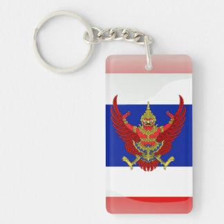 Llavero Bandera brillante de Tailandia