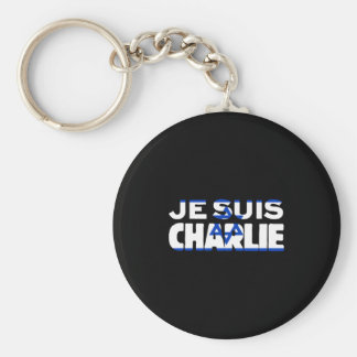 Llavero Bandera de Je Suis Charlie-Yo Charlie-Israel en