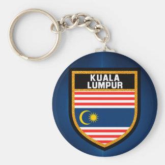 Llavero Bandera de Kuala Lumpur