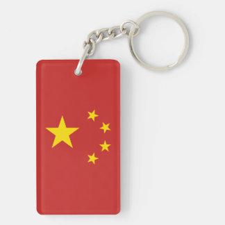 Llavero Bandera de la República Popular China - 中华人民共和国国旗