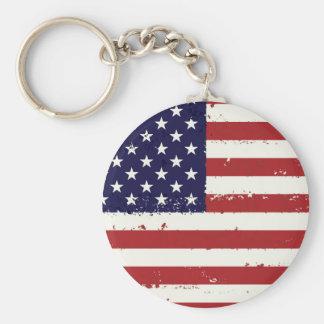 Llavero Bandera de los E.E.U.U. - bandera americana -