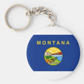 Llavero Bandera de Montana