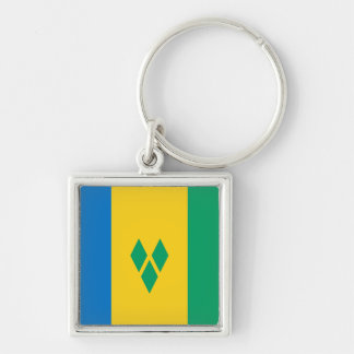 Llavero Bandera de San Vicente y las Granadinas