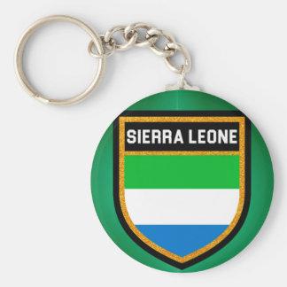 Llavero Bandera del Sierra Leone
