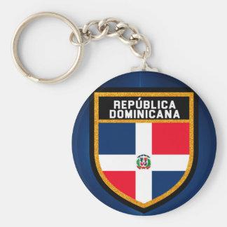 Llavero Bandera Dominicana de República