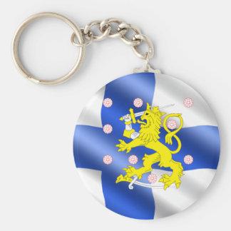 Llavero Bandera finlandesa
