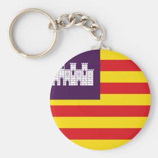 Llavero Bandera Islas Baleares - bandera Balearic Island