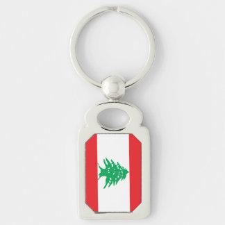 Llavero Bandera libanesa