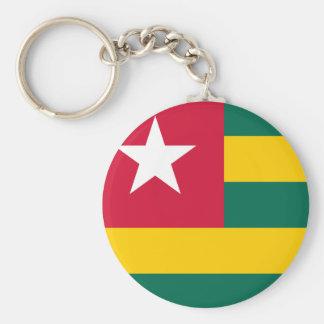 Llavero Bandera nacional del mundo de Togo