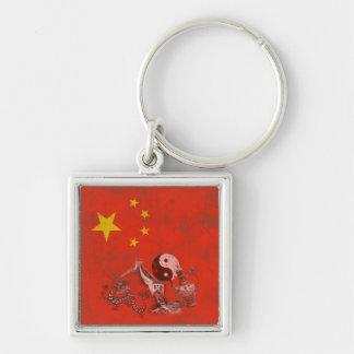Llavero Bandera y símbolos de China ID158