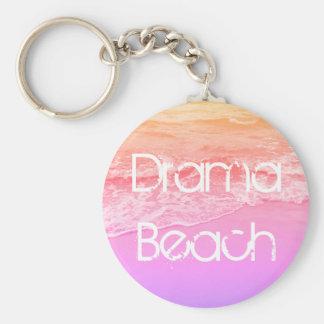 Llavero básico de la playa del drama