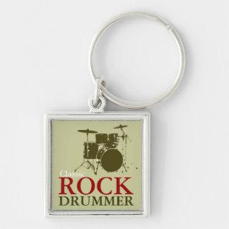 Llavero batería del rock-and-roll