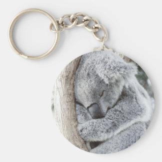 Llavero Bebé durmiente de la koala