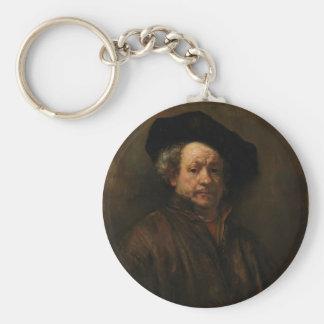 Llavero Bella arte del autorretrato de Rembrandt Van Rijn