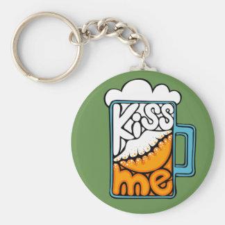 Llavero béseme - icono de la cerveza