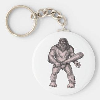 Llavero Bigfoot que celebra el tatuaje derecho del club
