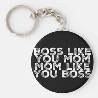 Llavero Boss tiene gusto de usted mamá