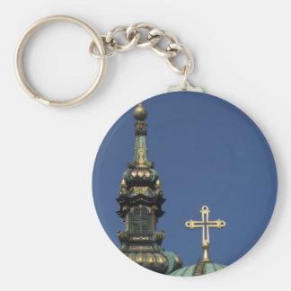 Llavero Bóvedas ortodoxas de la iglesia cristiana