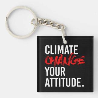 Llavero CAMBIO de CLIMA SU ACTITUD - - Favorable-Ciencia