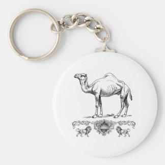 Llavero camello de lujo del león