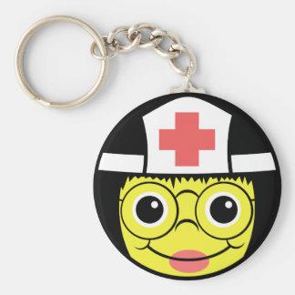 Llavero Cara de la enfermera