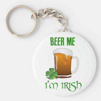 Llavero Cerveza yo soy irlandés