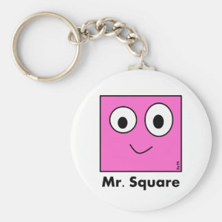 Llavero Chaveiro Mr. Square By PA