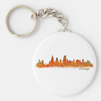 Llavero chicago Illinois Cityscape Skyline
