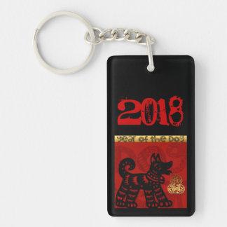 Llavero chino del nombre del zodiaco del año del
