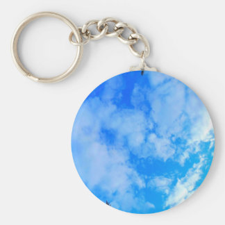 Llavero cielo azul