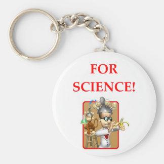 Llavero científico enojado