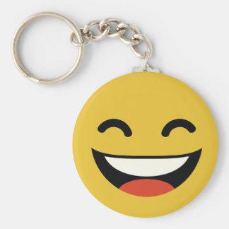 Llavero Ciérrese los ojos que ríen emoji